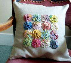 Deshilachado: Almohadones: de patchwork, fieltro, bordados,... / Pillows