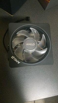 Amd Wraith Prism Cpu Cooler Rgb Heatsink Fan From Ryzen 7 2700x Am4 Heatsink Amd Fan