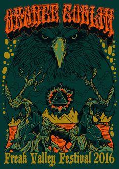 orange goblin concert posters - Google Search