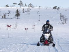 2000 norwegian kilometers on the snowmobiles.