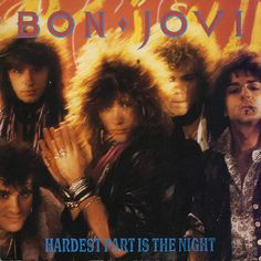 "For Sale -Bon Jovi Hardest Part Is The Night UK  7"" vinyl single (7 inch record)- See this and 250,000 other rare and vintage records & CDs at http://eil.com/"