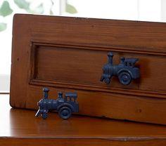 Train drawer knobs sooo cute!