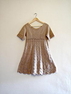 Oh my goodness ($47). 1960s Knitted Dress by GoodnightPrudence on Etsy, £20.00