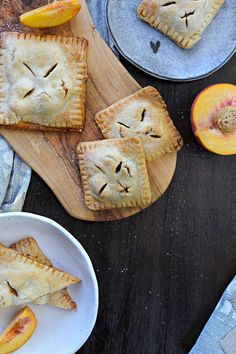 I love the use of curry in dessert an these curried peach hand pies are a great start!