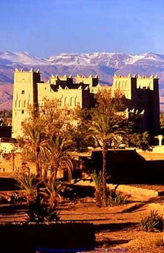 Oasis de Skoura : Kasbah d'Amerhidil,  Marroc