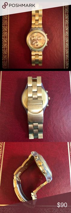 Swatch Gold Watch ⌚️ Used Gold Swatch Watch. Great Condition. Swatch Accessories Watches