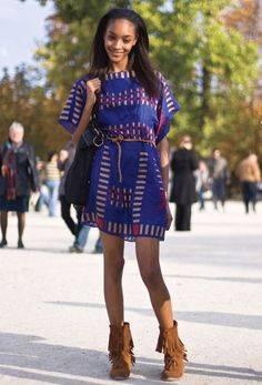 The latest tips and news on model street style are on Best Street Style. On Best Street Style you will find everything you need on model street style. Spring Summer Fashion, Winter Fashion, Tribal Trends, Model Street Style, Teen Vogue, Types Of Dresses, Street Chic, African Fashion, Dress To Impress