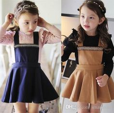 Princess Kids Girls Crystal Halter Dress Sweet Kids Ruffles Wool Blend Winter Spring Dress Brown and Blue Color Casual Dress-in Dresses from Mother & Kids on Aliexpress.com | Alibaba Group