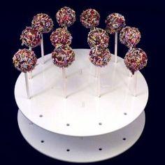 Acrylic Cake Pop Display Lollipop Clear Holder Pop Stand Cakepop Display Holder