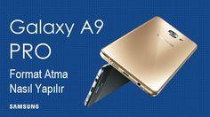 Galaxy A9 Pro format atma sıfırlama nasıl yapılır