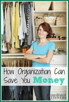 How Organization Can Save You Money
