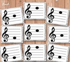 More ideas for teaching notes on the treble clef staff - Sing. Teach. Love.