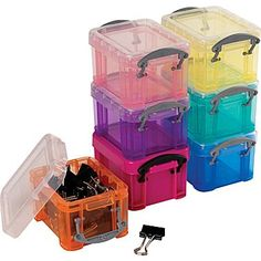 Really Useful Box 0.3 Litres Pack of 3 Assorted