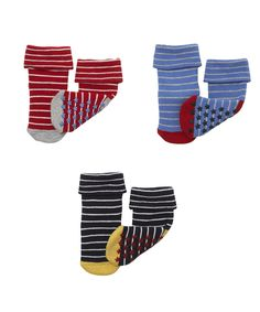 Striped Tot Socks - 3 Pack - socks - Mothercare