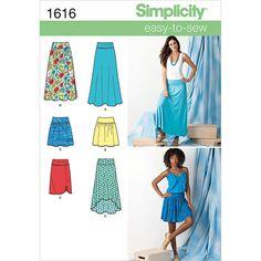 Simplicity Pattern 1616K5 8-10-12-14-Simplicity Misses Sk