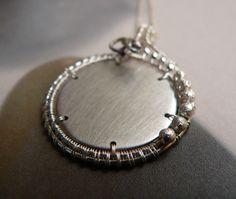 Silver - nyaklánc, Ékszer, óra, Medál, Nyaklánc, Meska Bracelets, Silver, Jewelry, Jewlery, Jewerly, Schmuck, Jewels, Jewelery, Bracelet