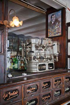 Argentina, Buenos Aires, San Telmo, café Dorrego