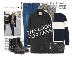 """""""Get Gigi's Look for Less.."""" by hattie4palmerstone ❤ liked on Polyvore featuring Uniqlo, MANGO, Fiorentini + Baker, DKNY, Topshop, women's clothing, women, female, woman and misses"""