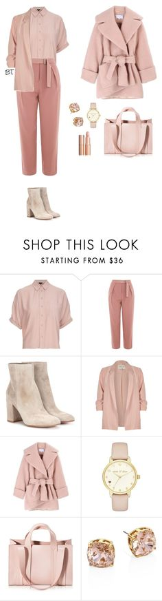 """""""Без названия #106"""" by tatiana-budkevich on Polyvore featuring Topshop, Gianvito Rossi, River Island, Carven, Kate Spade, Corto Moltedo и Tory Burch"""