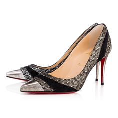 38934a8c1db Christian Louboutin United States Official Online Boutique - Eklectica 85 Version  Multi Specchio Laminato available