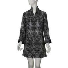 Belle Époque Swirling Scroll Pattern Jacket - Jackets - Apparel - The Met Store at the Metropolitan Museum of Art