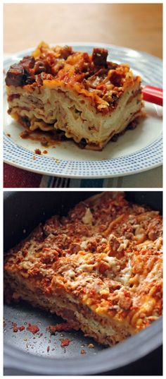 Slow Cooker Sausage and Four Cheese Lasagna from The Perfect Pantry is ...