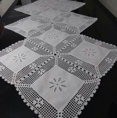 this pin was discovered by Crochet Bedspread, Crochet Quilt, Crochet Tablecloth, Filet Crochet, Crochet Motif, Crochet Doilies, Hand Crochet, Crochet Lace, Knitting Patterns