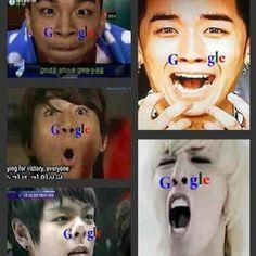 : Big Bang's Google version
