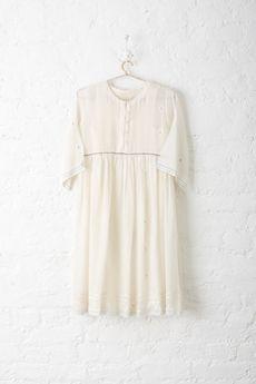 Good Earth - Malabar Jamdani:Kakoli Cotton Dress