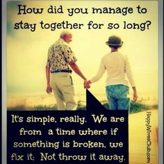 Love this quote.  Why couldn't I grow up in a time when I LOVE YOU, actually meant something.