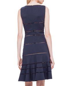 Hemstitch Jersey Dress