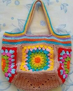 Crotchet Bags, Crochet Beach Bags, Free Crochet Bag, Crochet Market Bag, Crochet Art, Crochet Gifts, Crochet Patterns, Crochet Handbags, Crochet Purses