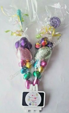 Ikram's Cakes & Gifts Galore Easter Chocolate Eggs Filled Sweet Cones Kids Easter Basket Treat Egg H Easter Chocolate, Chocolate Gifts, Easter Gifts For Kids, Easter Crafts, Sweet Cones, Party Co, Mini Eggs, Chocolate Bouquet, Gift Cake