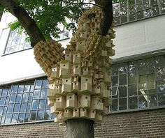 birdhouse cities in Central London by UP projects