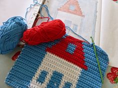 Hints and tips for tapestry crochet by Mrs Thomasina Tittlemouse.