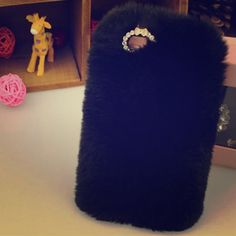 iPhone 5S and6 fluffy phone case Cute fluffy phone case Accessories Phone Cases