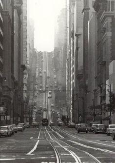 route22ny:California Street, San Francisco, 1964, by Todd...