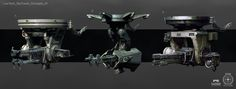 ArtStation - Star Citizen Low Tech Security Turret, Ken Fairclough