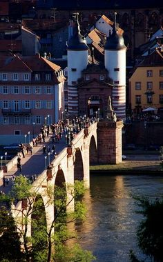 Old Bridge ~ Heidelberg, Germany | Flickr - Photo by Marcela