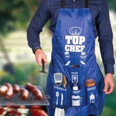 Tablier Top Chef : Kas Design, Distributeur de Produits Originaux pour Homme