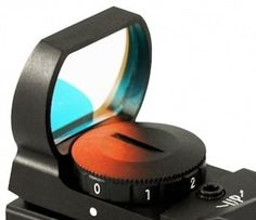 Aim Sports Red Dot Sight with 4 Different Reticles I have this on my Ruger mark III and I love it. Only 30$ on Amazon.