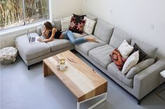 Kellan Sectional Sofa with Left Chaise, Light Grey