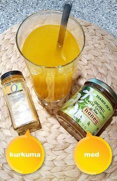 Úžasný detoxikační nápoj z kurkumy a medu - DIETA. Dieta Detox, Fruit Tea, Healing Herbs, Health Advice, Detox Drinks, Healthy Cooking, Turmeric, Herbalism, Healthy Lifestyle