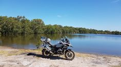Getting out on my 2016 BmwR1200 GSA in Beautiful Yeppoon Qld Australia