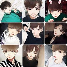 Awwww kookie this fanart is amazing tho