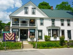 The Newfane Country Store in Newfane, another excellent country store. I have a quilt from this store.