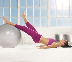 Love this stability ball work out.