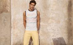 ARGENTINEMEN: JUAN GUILERA FOR MIDWAY - SUMMER 2014 Spanish Men, Summer 2014, Tank Man, Website, Model, Mens Tops, Fashion, Moda