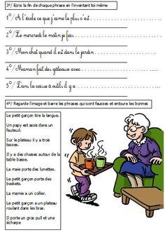Dossier Lecture compréhension CP lecteurs (mots tordus, mots intrus, mots image) | BLOG de Monsieur Mathieu NDL Cycle2 Grande section CP CE1