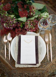 Woodland wedding by Paula O Hara / Pin curated by Pretty Planner Weddings & Events www.prettyplannerweddings.com /